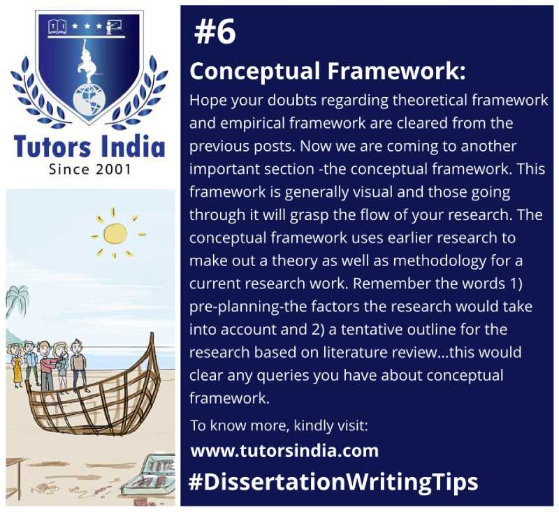 Conceptual Framework of Your Dissertation – A Tentative Yet Important Outline
