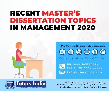 popular masters dissertation ideas