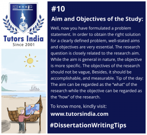 Day 10 Aim and Objectives of the Study