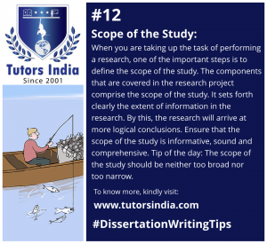 Day 12 Scope of the Study