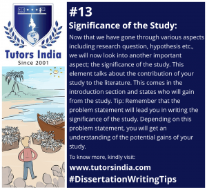 Day 13 - Significance of the study