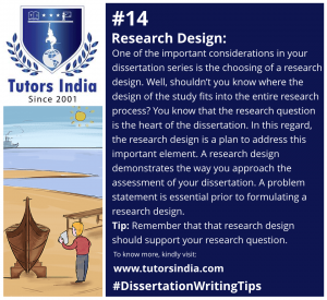 Day 14 - Research Design