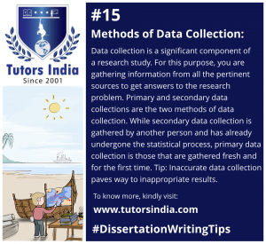 Day 15 - Methods of Data Collection