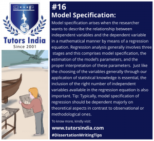 Day 16 - Model Specification