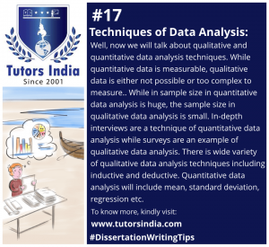 Day 17 Techniques of Data Analysis