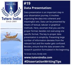 Day 19 Data Presentation
