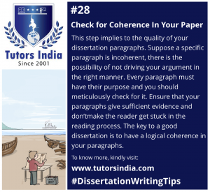 Day 28 Check for coherence in your paper