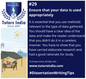 Day 29 Ensure that your data is used appropriately