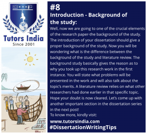 Day 8 Introduction - Background of Study